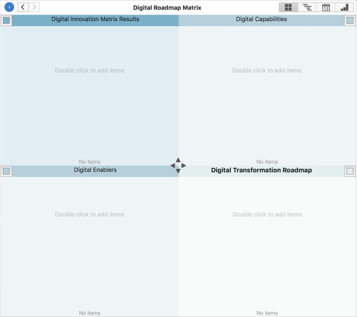 Digital Roadmap Matrix by Templates.app
